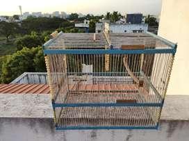 Hand made bird cage