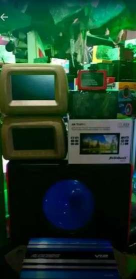 Paket TV kamera audio bass