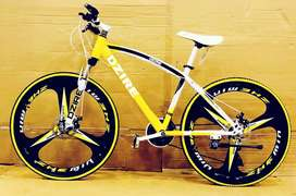 GOLDEN ENTERPRISE. 21GEARS MTB MACHWEELTYRE SPORTS BICYCLES AVAILABLE.
