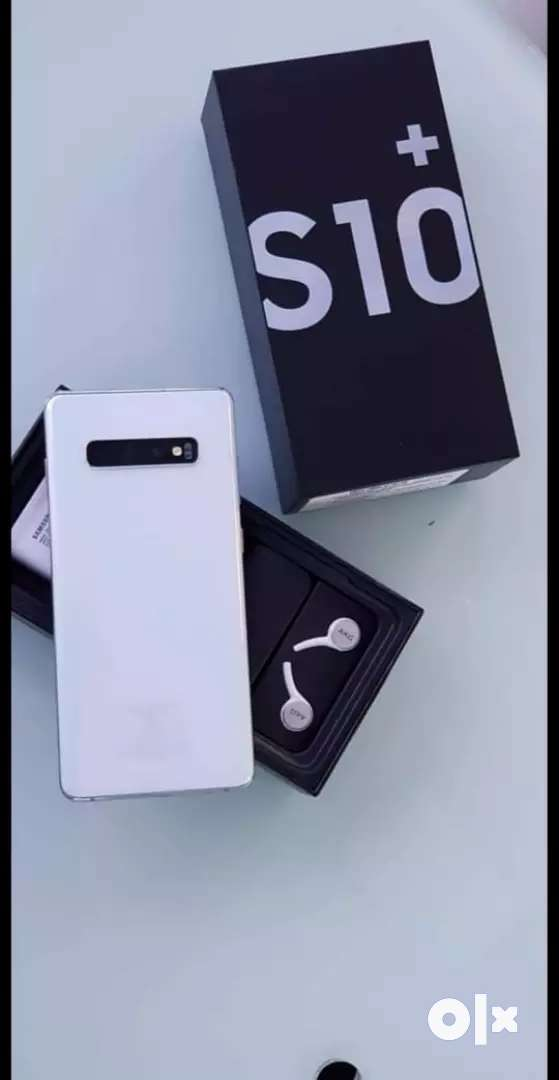S10+ new and refurbished available with bill box and warranty 0