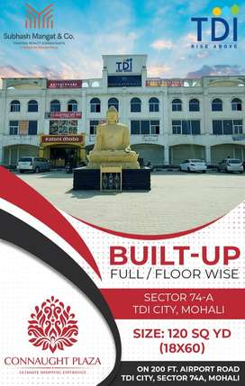 BUILT UP SHOWROOM FULL/FLOOR WISE, ON AIRPORT ROAD, MOHALI