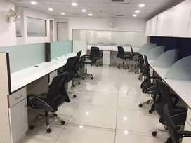 Fully furnished 1700 square feet ready office space