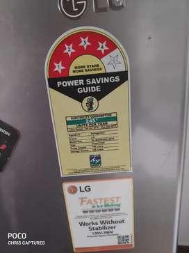 LG 190L 4 star fridge