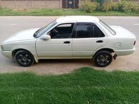 Nissan sunny 1993 model achi condition m ha cng or petrol dono chalu