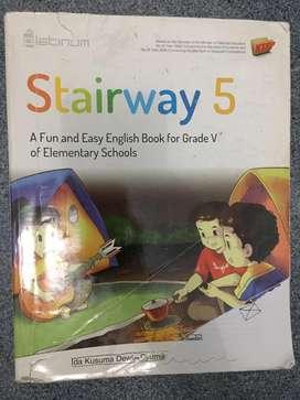 STAIRWAY Kelas 5 Buku English ORIGINAL