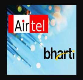 Airtel require a receptionist