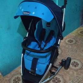 Dijual cepat stroller babyelle maxi kondisi mulus no cacat (nego)
