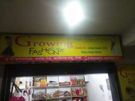 Growing fashion boutique and collection