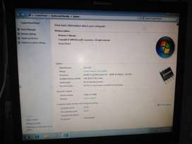 Lenovo intal Quad core RAM 4GB DDR3