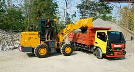 Jual wheel loader lonking 300 jutaan