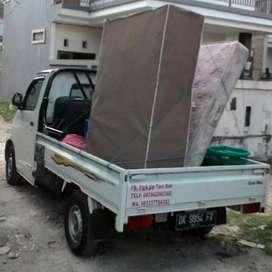 Antar kirim barang & jasa pindahan sewa losbak mobil bak mobil pick up