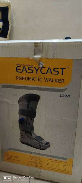 Pneumatic walker Shoe
