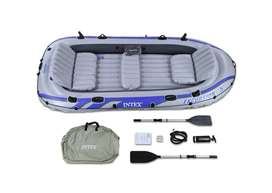 "INTEX Excursion 5 Boat Set for 5 Persons 455 Kg ( 144"" x 66"" x 17"" )"