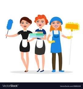 24 hour female maid required