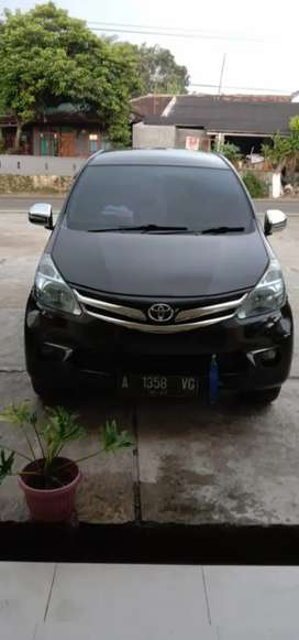 Toyota Avanza g manual 2012