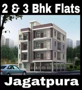 2 bhk @ 24 Lacs   3 bhk @ 30 Lacs 100% Loanable Akshaypatra Jagatpura