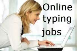 Data entry work simple English typing interested person can apply