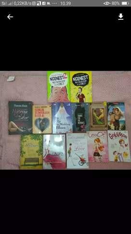 Novel borongan 13 buku