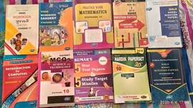 10th STD ENGLISH MEDIUM BOOKS
