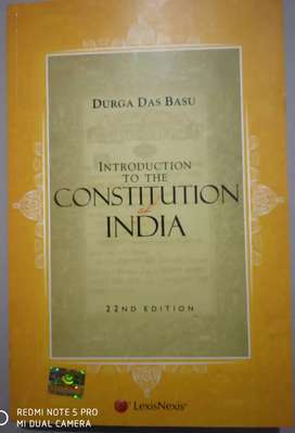 Introduction to constitution by Durga Basu