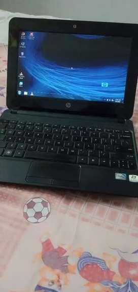 Hp mini laptop with win 7