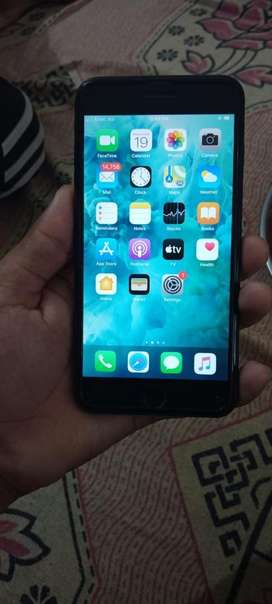 I phone 7plus 128 GB black colour