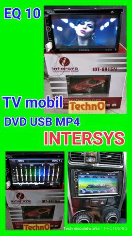 Teknologi Baru Tv Eq 10 mobil tape doubledin 7 in DVD Bluetooth kamera