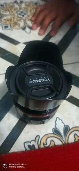 Lensa fix yongnuo 50mm canon banyak bonus
