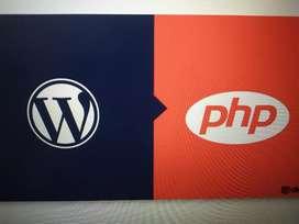 WordPress OR PHP developer needed
