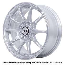 Velg Mobil Honda Jazz, Ferio, Brio dll HSR R15X65 H8X100-114,3 ET42