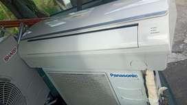 AC pansonic 1/2 PK hrga plus pasang Grs 6 bulan dingin jos gandos
