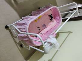 New baby cradle for sale. Available immediately.