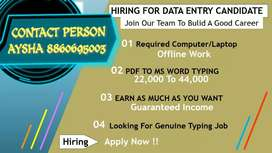 Data entry part time jobs apply now Ayesha