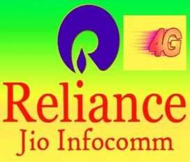 Hiring in Reliance jio company for full time job on roll Vacanc