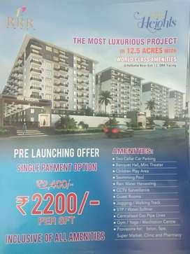 World class amenities. Adibatla near exit  :13,orr facing ,