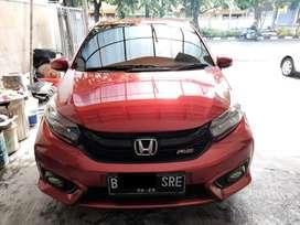 Honda Brio Rs 2020 KM 10rban Matic Merah Di Surabaya