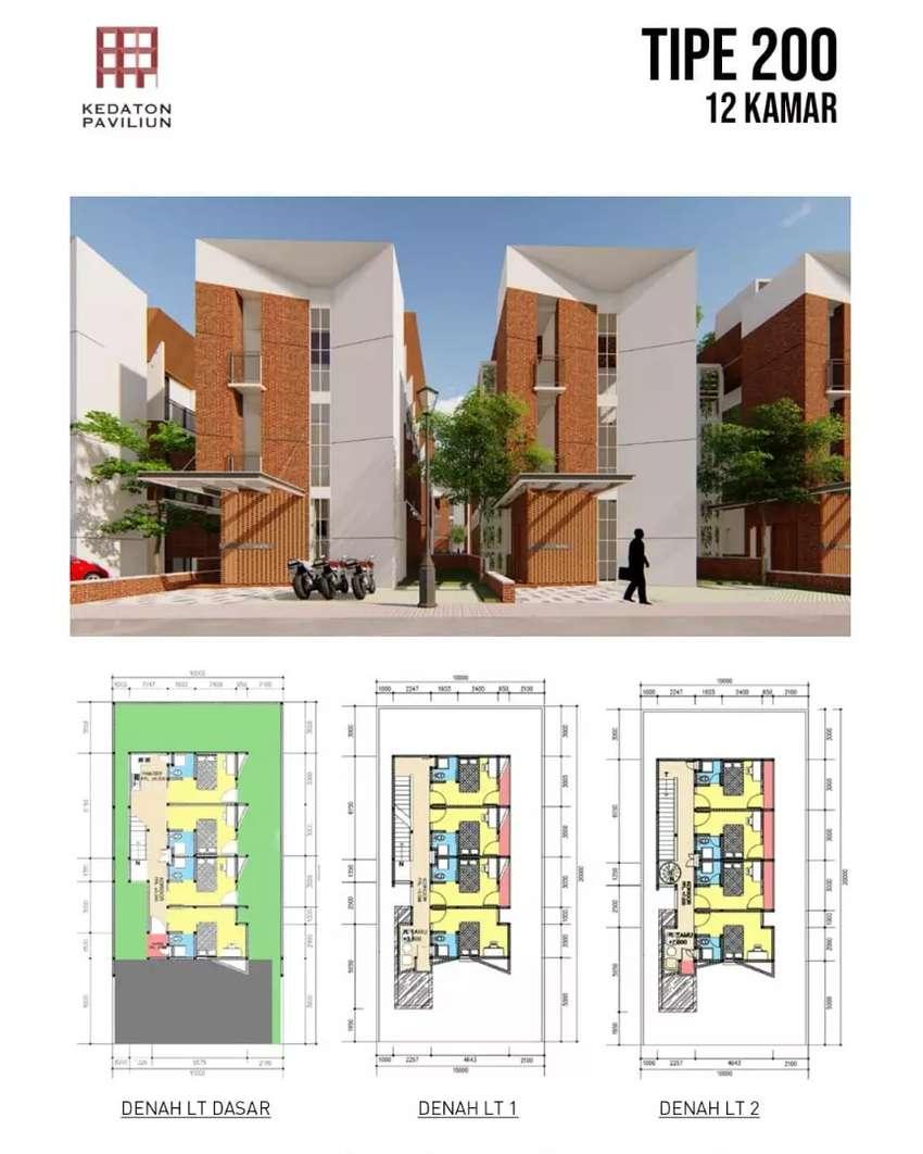Rumah Kost BSB City Semarang, 3 Lantai dekat Hilago, UNIKA, BCA