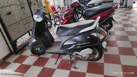 Black Honda Activa 2013 model in very good condition
