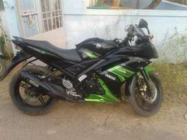 R15 V2 bike, well condition
