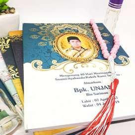 Buku Yasin dan Tahlil custom terbaik dan termurah Lampung