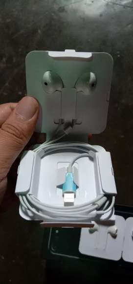 Headset iphone 7, 7+, 8,8+,X lightning