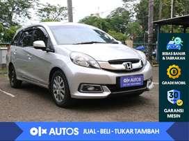 [OLX Autos] Honda Mobilio 1.5 E Prestige CVT 2015 Abu - Abu