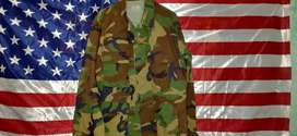 US Army,  Marines, Air Force Uniform Woodland BDU Coat Twill