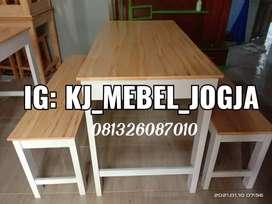Meja kursi set promo besar