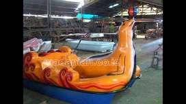 Pabrik Sepeda Air Kayuh Fiberglass Model Anjing Laut Rembang