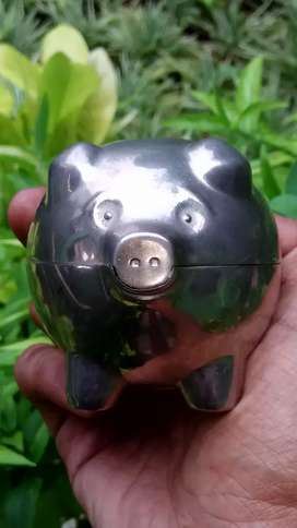 Piggy bank, stainless steel