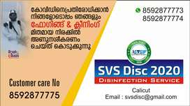 SVS Disc 2020, Disinfection Service center