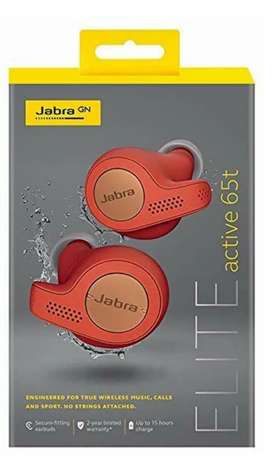 Jabra Elite 65T Active - (Copper Red) Pristine condition