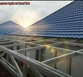 Aa aplikator pemasangan rangka atap baja ringan