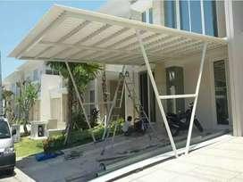 Melayani pembuatan kanopi minimalist